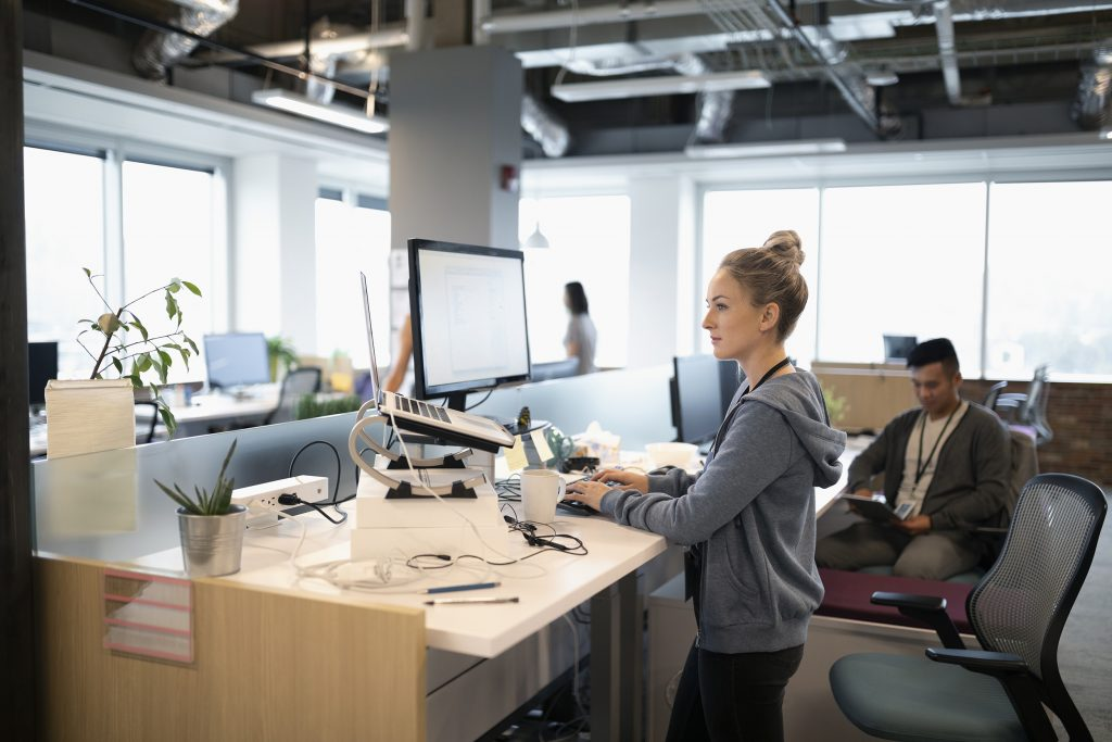 Why Your Workers Need A Standing Desk