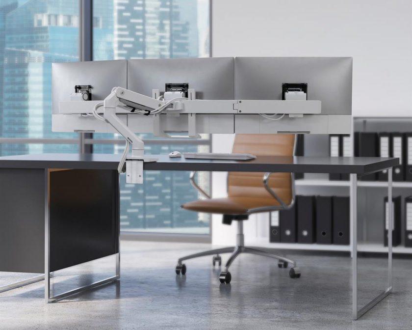 HX Triple Monitor Arm office space Australia