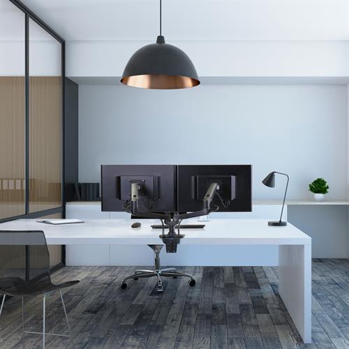 Adjustable desk LX Dual Arm desk supplier Australia