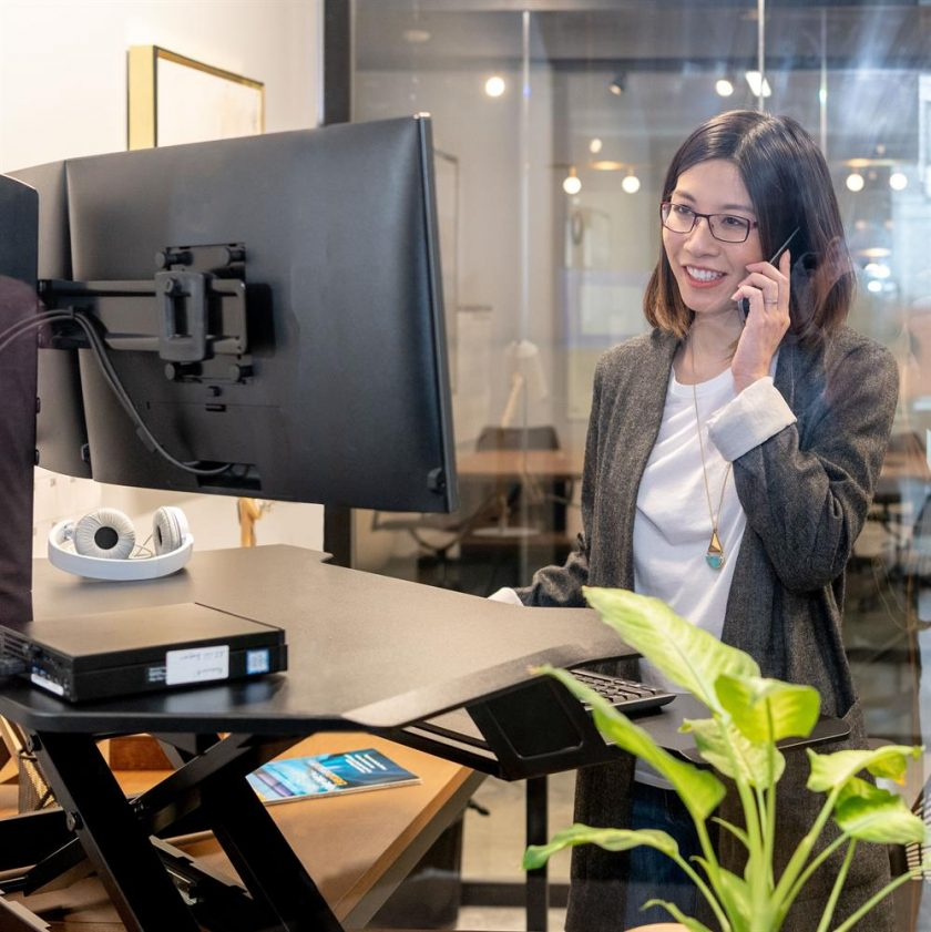 Corner Workstation Module Office Space Supplier Australia