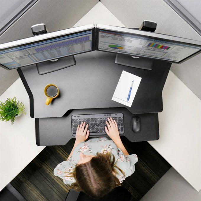 Adjustable desk Workstation Corner supplier Australia