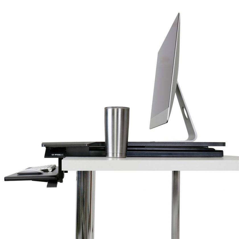 Adjustable standing desk Ergotron Module furniture Australia