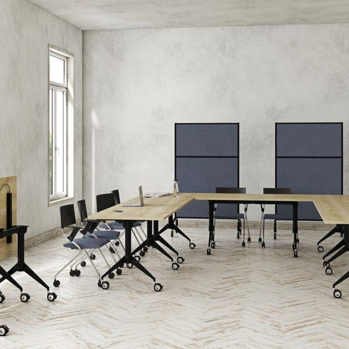 Meeting table Marco Folding Table ergonomic furniture supplier Australia