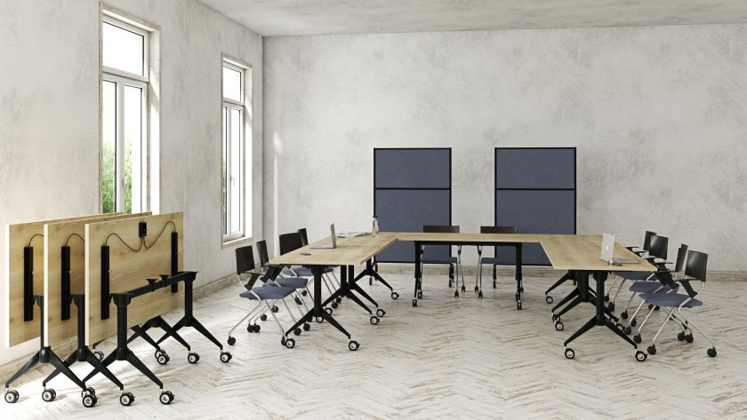 Meeting table Marco Folding Table ergonomic furniture supplier Australia