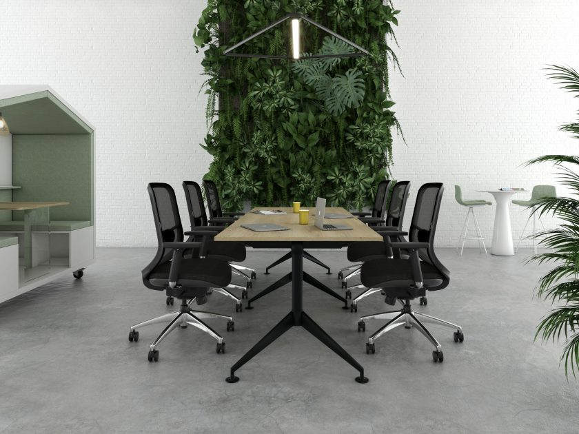 Office meeting table Marco Long table supplier Australia